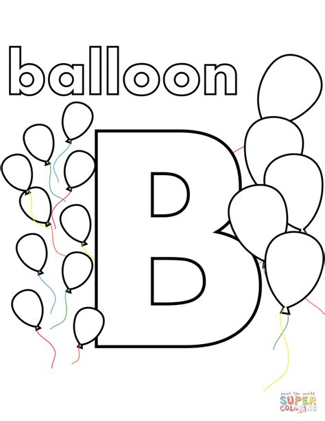 Coloring Page Letter B by The Small And Capital B Coloring Pages With Letter B