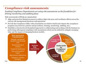 compliance assessment template building a compliance department of the future driving