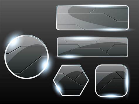 glass vector glass buttons vectors vector art graphics freevector com