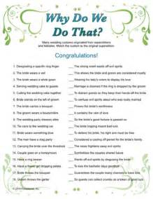 quot why do we do that quot wedding traditions bridal