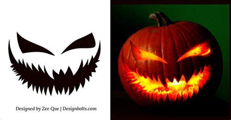 scary pumpkin templates pumpkin carving patterns pumpkin carvings and carving on