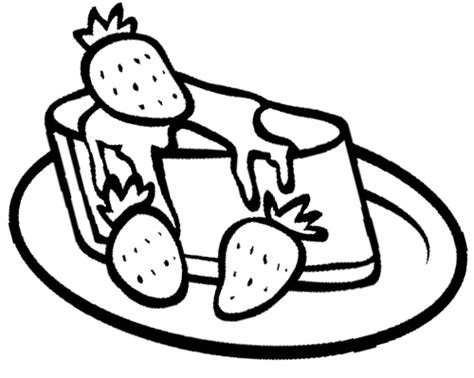 cake with a delicious strawberry coloring book pages strawberry cheese cake coloring page cookie pinterest