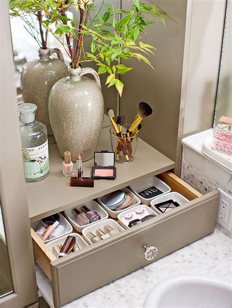 bathroom makeup storage ideas simplistic makeup brush storage makeup organizer ideas