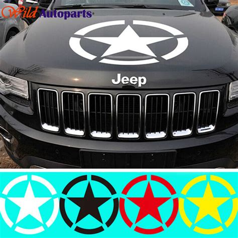 Jeep Wrangler Motorhauben Aufkleber by Kaufen Gro 223 Handel Jeep Army Decals Aus China Jeep