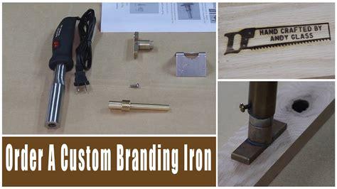 rockler custom branding irons review glass impressions