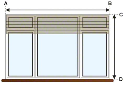 measure windows for blinds window treatments measuring measure for your window