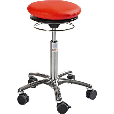 Air Stool by Pilates Air Seat Ergonomic Stool With Leather Look