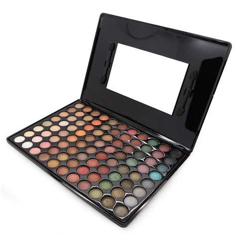 Eyeshadow Kit 2016 new 88 color eyeshadow palette satin matte eye shadow makeup kit set with brush mirror in