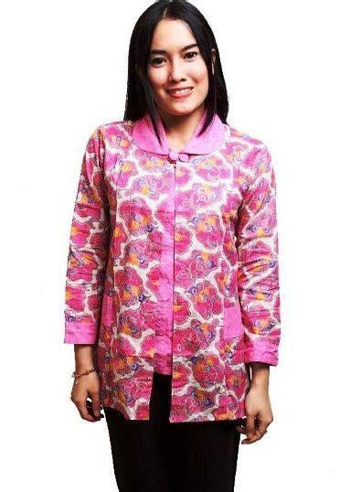 Blouse Batik Baju Atasan Wanita Blus Muslim Anggit Top 23 model baju blus terbaik saat ini 2018 fashion modern 2018