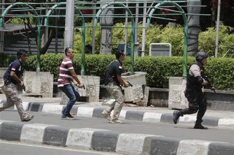 Celana Polisi Bom Sarinah bule ini bingung melihat cepatnya warga jakarta move on