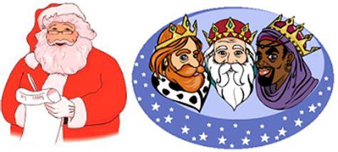 imagenes de los reyes magos y santa clos crea tu v 237 deo interactivo de los reyes magos o pap 225 noel
