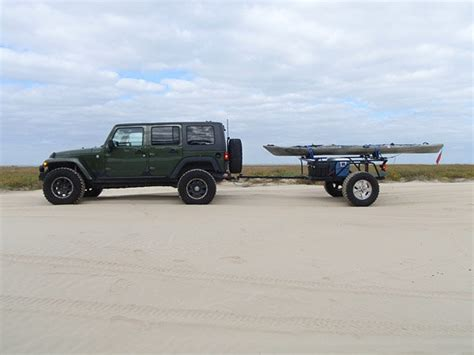 jeep kayak trailer jk with offroad yak trailer kayak trailers