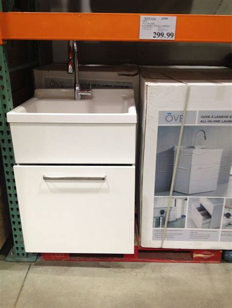 laundry tub cabinet costco ove utility cabinet from costco cabinets matttroy