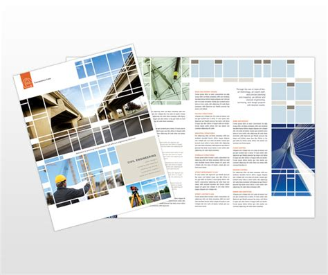engineering brochure templates free document moved
