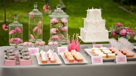 Dessert Bar Ideas For Baby Shower by Fall Flower Centerpiece Ideas Baby Shower Dessert Table