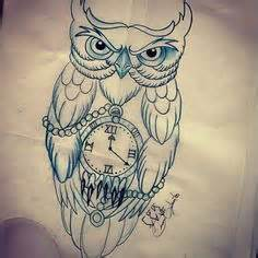 owl tattoo with clock meaning pin by jessica on tattoo ideas pinterest traditional
