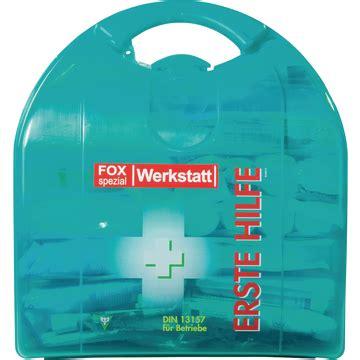 werkstatt verbandskasten erste hilfe koffer werkstatt din 13157 erste hilfe