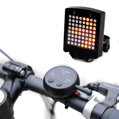 turn on house lights remotely 64 led wireless remote laser bicycle rear tail light bike