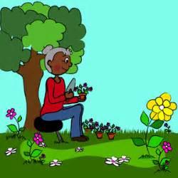 clipart garten garden clip
