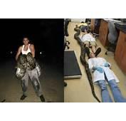 Jason Leon Holds The Record Breaking Snake Left Which University Of
