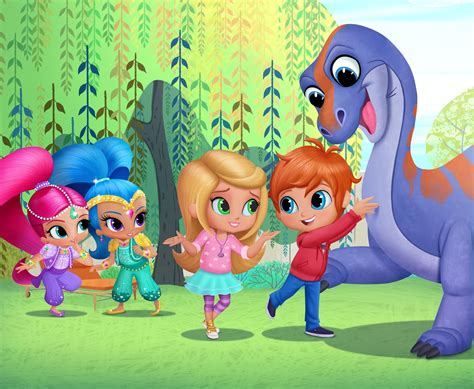 Carnival Backyard Party A Geek Daddy Shimmer And Shine Whirl Onto Nickelodeon S