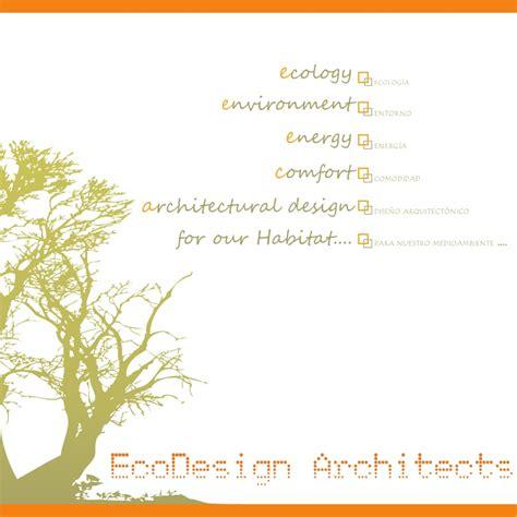 design for environment slideshare eco design architects profile