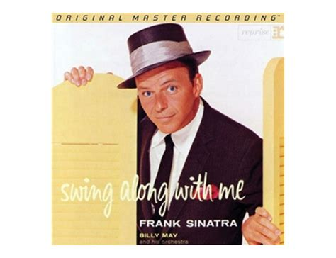 frank sinatra come swing with me lp mfsl frank sinatra swing along with me record