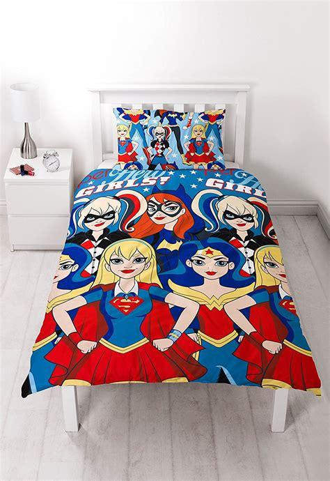 Sonic Duvet Cover New Girls Super Hero Wonderwoman Harley Quinn Single