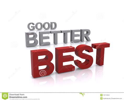 best better better best stock images image 16174554