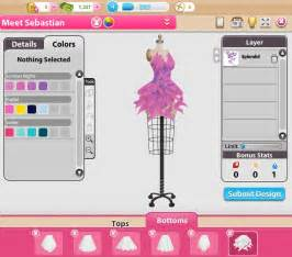 create design online make the runway your own in fashion designer on facebook