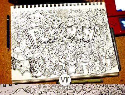 doodle hitam putih 17 contoh gambar doodle nama hitam putih grafis media