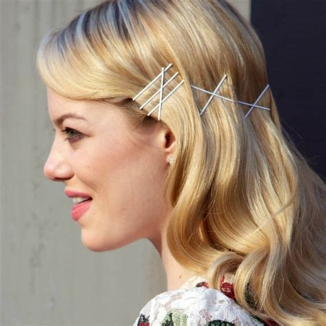 hairstyles for straight hair with bobby pins tendencias peinados con horquillas a la vista
