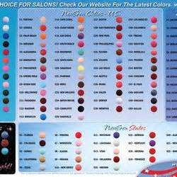 nexgen nails color chart nails spa nail salons 49 photos 101 reviews