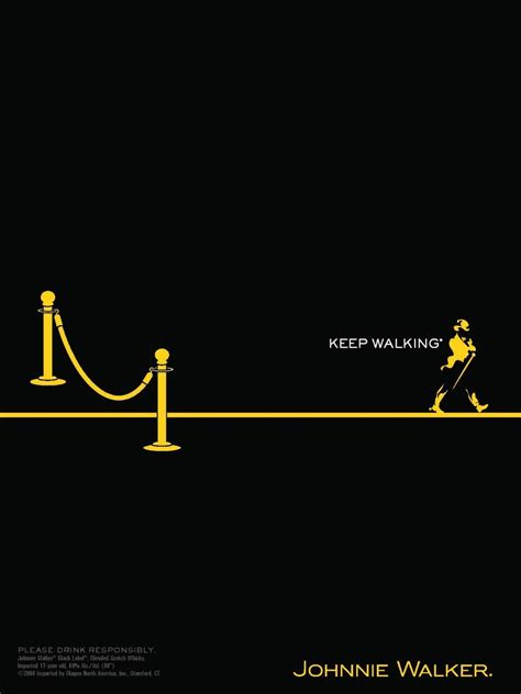 johnnie walker print ads  boast   rich legacy    class