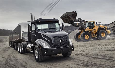 volvo truck series volvo trucks vnx series is a heavy hitter for heavy