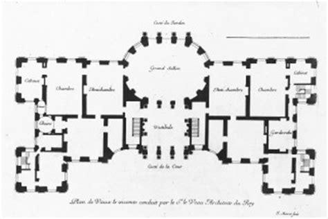 French Chateau House Plans a amp a plans drawings chateau vaux le vicomte