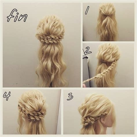 princess braided updo 101 braids that will save your bad hair day livingly