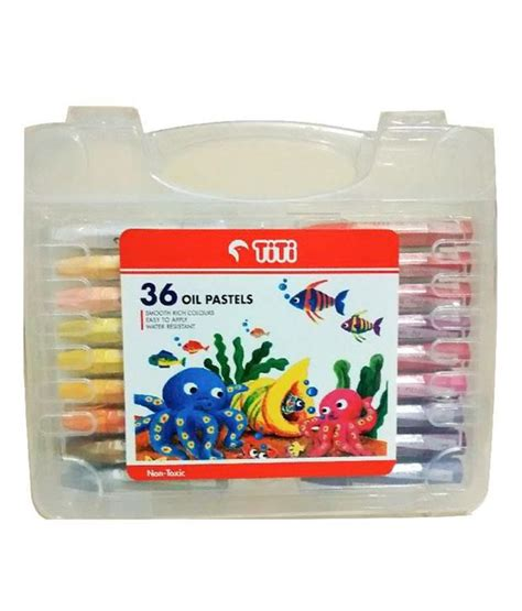 Titi 36 Pastel titi pastels set of 36 buy at best price in india snapdeal