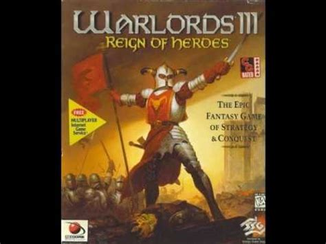 theme song reign warlords 3 reign of heroes music title theme youtube