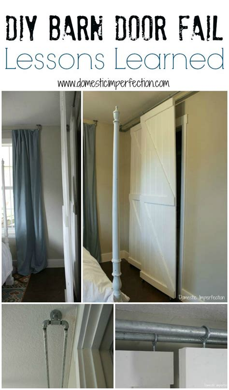 Corner Kitchen Pantry Ideas by Double Bypass Sliding Barn Door System A Diy Fail
