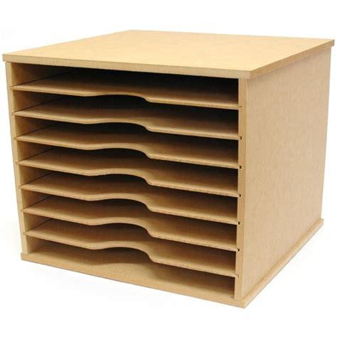 pattern paper rack kaisercraft scrapbooking 12x12 paper storage rack unit