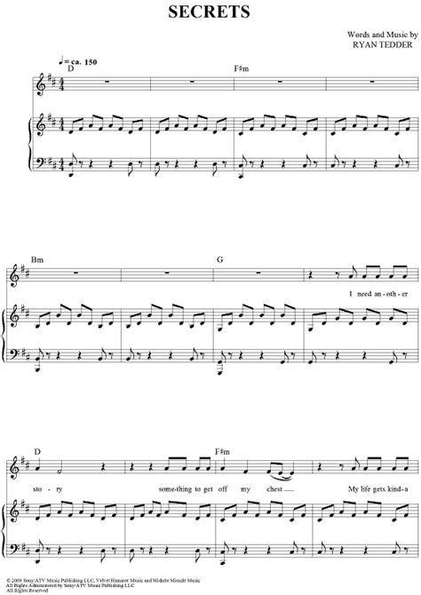 secret piano chords secrets sheet for piano and more