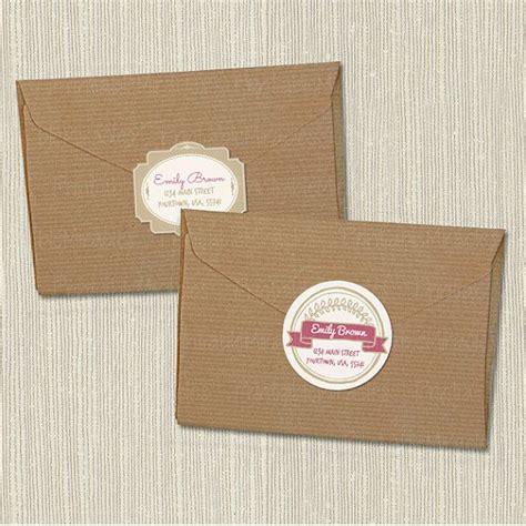 printable envelope labels return address labels printable envelope stickers