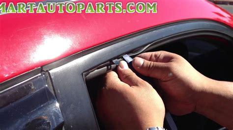 Visor Windshield N Max Standart Pendek Window Visor Installation Honda Civic 2006 2011 Sedan
