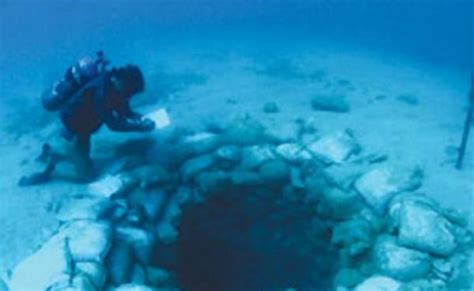 Senter Underwater 7 500 year underwater may been oldest olive production center in the world