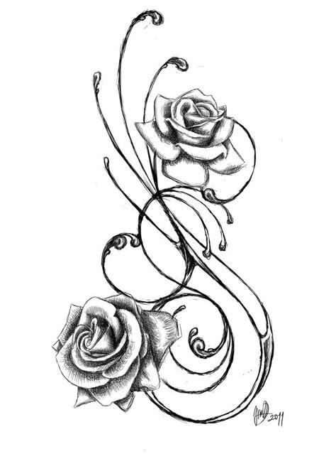 rose tattoo by jadroart on deviantart
