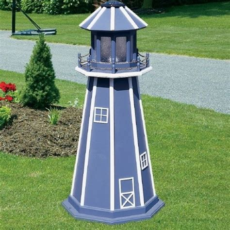 Handmade Lighthouse - made lighthouses handmade by the amish by