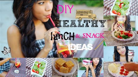 healthy diy lunch ideas for school quick and easy youtube