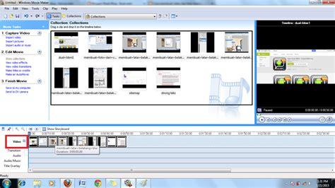 cara membuat film pendek dengan windows movie maker image cara membuat video dari foto menggunakan windows