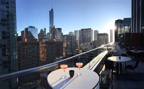 top chicago rooftop bars chicago s 14 hottest rooftop bars and terraces mapped